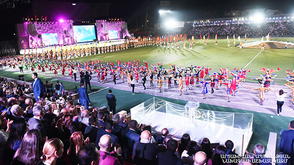 Pan-Armenian Games Carry Message of Peace, Not War