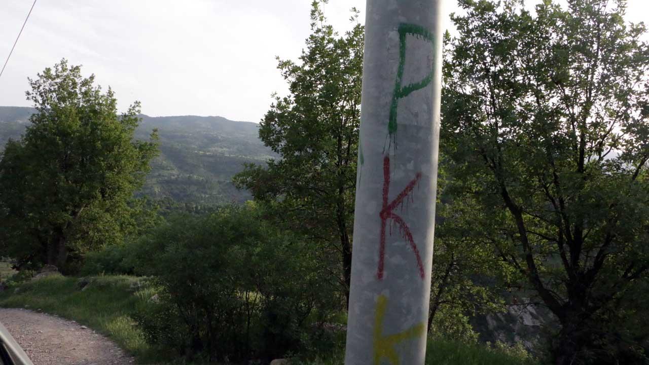 PKK graffiti